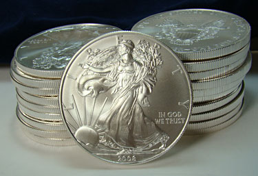 Buy silver coins now ... before it's too late!