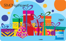 Simon Malls Gift Card - Presents design